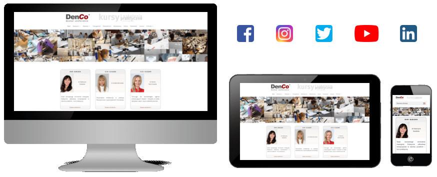 DenCom.pl - Strony internetowe dla Gabinetów stomatologicznych
